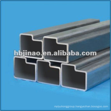 Trapezoid Irregular seamless steel pipe and tube