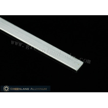 Aluminium-Bodenlamelle für Raffrollos 12*2mm