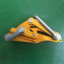 Come along clamp Self-gripping clamp for optic cable