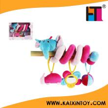 Multifunctional Baby Toys Animal Baby Bed/Crib Round Plush Toy