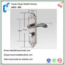 Anodizado cnc fresado mecanizado precisión prototipo custom modernos manijas de puerta