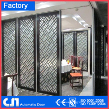 Partition Wall Automatic Sliding for Hotel Resturant