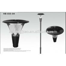 new and cheap plastic led garden solar lamp