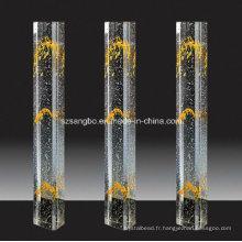 Main courante/Home décoration en verre verre/pilier