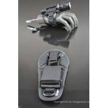 Hochleistungs-Tauchen oder Onland-Taschenlampe verstellbare Nylon-Handschuhe