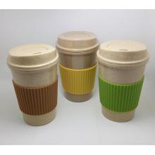 (BC-C1040) Copo de café de bambu da fibra do projeto elegante