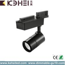 12W COB Dimmable LED مسار الإضاءة Systerm