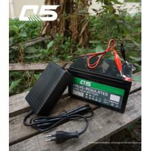 12V1.3A Bateria de ácido de chumbo automática Trickle Carregador Armazenamento Carregador de bateria