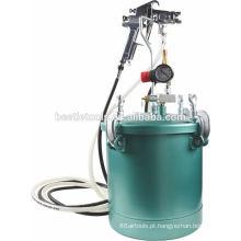 Tanque da pintura da pressão de ar 10L - Teflon revestido de aço