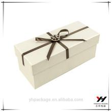 boîte de carton d'emballage de cadeau personnalisé