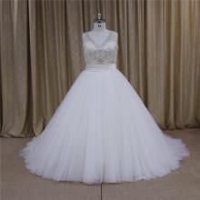 Сексуальный плюс размер платья свадьба