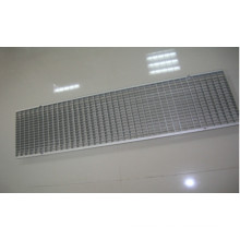 Outdoor Linear Drainage System Stainless Steel Grating Drain