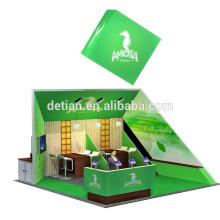 Detian offre une cabine innovante de système d'exposition sur mesure