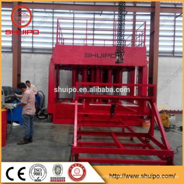 Machine hydraulique de configuration d'extrémité de Dished, machine expansible de tête de réservoir, machine de pliage de tête de Dished