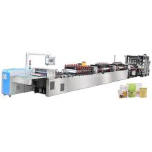 Máquina para fabricar bolsas con cremallera de alta velocidad