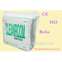 100% Polyester cleanroom non woven wipers Factory Direct Sales