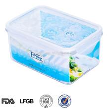 EASYLOCK 1.2L Plastiklebensmittel-Speicherbehälterhaus