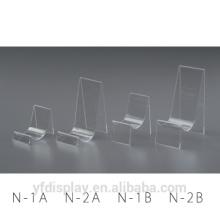 Factory Manufacturing Customized Shape Clear Acrylic Shoe Shelves