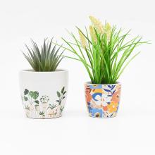 Pot de fleur respirant Vintage Cerami