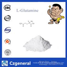 Melhor preço de alta qualidade farmacêutica grau L-glutamina em pó