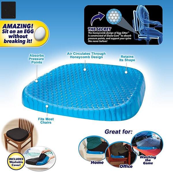 honeycombo design support cushion