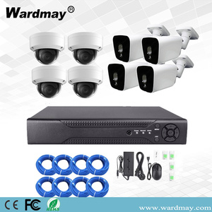 Kits CCTV 8CH 5.0MP HD WDR PoE NVR