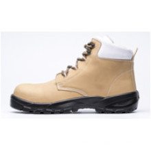 Ufb025 Beige Brand Steel Toe Safety Boots