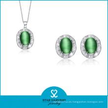 Venta al por mayor Nueva joyería de plata de la manera de la llegada (J-0114)