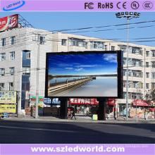 Painel video exterior da tela da parede do diodo emissor de luz da cor completa do brilho alto de P10 SMD3535 para anunciar