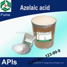 Bon produit pharmaceutique Poudre d'acide azélaïque (meilleur prix)