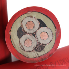 Flexible Electric trailing Rubber oil resistant manufacturer mining cable