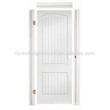 Interior Living room Bathroom Hollow Core Prehung HDF Moulded Door, HDF Molded Door