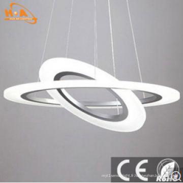 La lampe suspendue moderne spécialement conçue pour la suspension