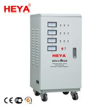 Industrial Use Three Phase Servo Motor Control 9kva Automatic Generator Voltage Stabilizer
