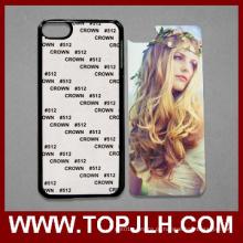 Personalizado telefone cobrir em branco caso de sublimação 2D para iPod iTouch 6