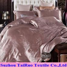Jacquard Silk Satin for Bedsheet Set