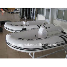 rib360 ce fiberglass rigid boat with motor 25hp