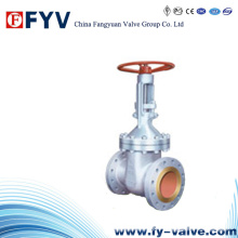 API 6D Cast Steel Solid Wedge Gate Valve