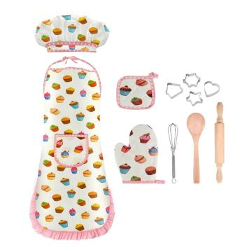 Juego de hornear Chef Role Play Costume Baking Kids