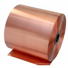 99,9% de bobina de cobre Cu-ETP, fita de cobre, tira de cobre