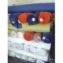 stocklot CVC y telas de sábanas teñidas con algodón