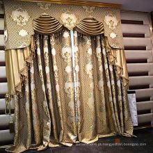 Padrão mais recente tecido puro para cortinas
