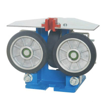 Peças de elevador de segurança Sapata de trilho de guia de rolo de 16 mm