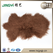 Fast Sale Long Hair Curly Mongolian Fur Skin