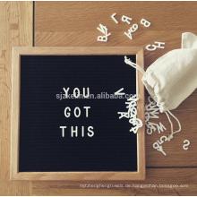 Filz Brief Board Holz Werbung Brief Board 10x10 Zoll