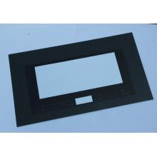 Panel eléctrico rectangular de vidrio templado para horno