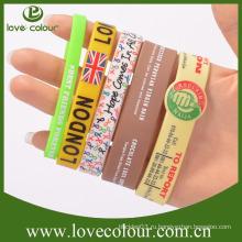 Фабричные дешевые наручные браслеты из силикона