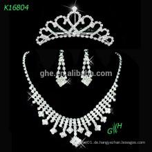 Hochwertige Choker Zircon Hochzeit Choker Halskette
