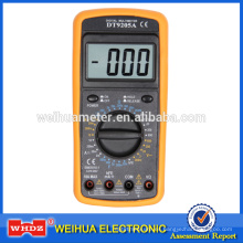 Multímetro digital DT9205A CE con datos de prueba de capacitancia Mantener apagado automático