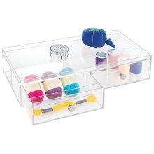 Wholesale Organização de caixa de armazenamento em casa de acrílico